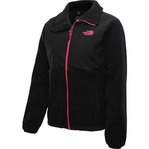 The North Face Sz Md Black & Hot Pink Danali